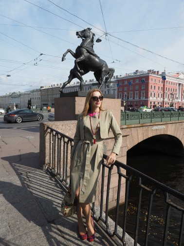 Anichkov bridge, St. Petersburg