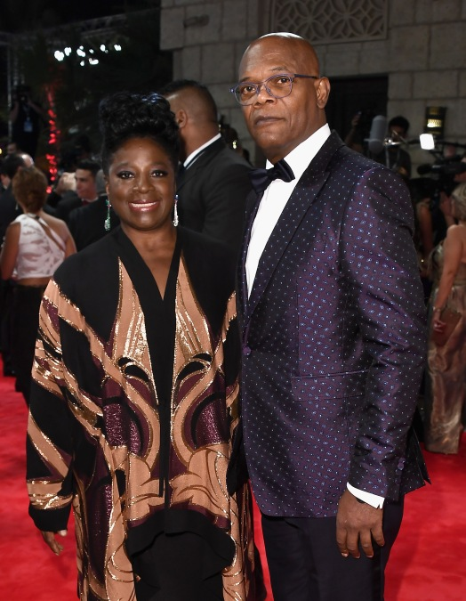 LaTanya and Samuel L. Jackson, photo credit DIFF team
