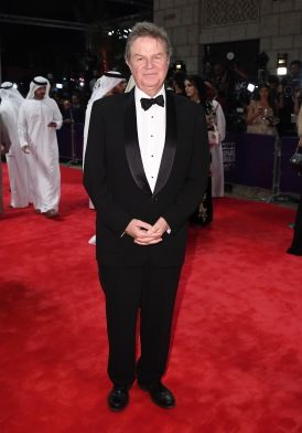 DUBAI, UNITED ARAB EMIRATES - DECEMBER 07: Director John Madden attends the Opening Night Gala during day one of the 13th annual Dubai International Film Festival held at the Madinat Jumeriah Complex on December 7, 2016 in Dubai, United Arab Emirates. (Photo by Gareth Cattermole/Getty Images for DIFF) *** Local Caption *** John Madden