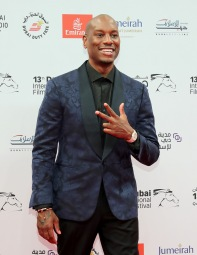 DUBAI, UNITED ARAB EMIRATES - DECEMBER 07: Tyrese Gibson attends the Opening Night Gala during day one of the 13th annual Dubai International Film Festival held at the Madinat Jumeriah Complex on December 7, 2016 in Dubai, United Arab Emirates. (Photo by Neilson Barnard/Getty Images for DIFF) *** Local Caption *** Tyrese Gibson