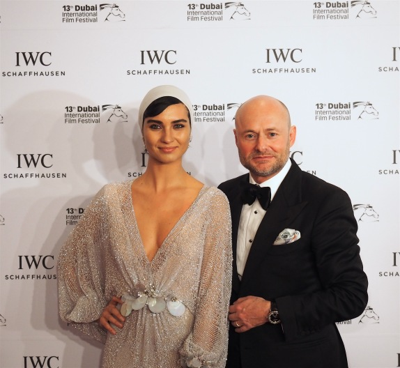 Tuba and Georges Kern, CEO IWC Schaffhause