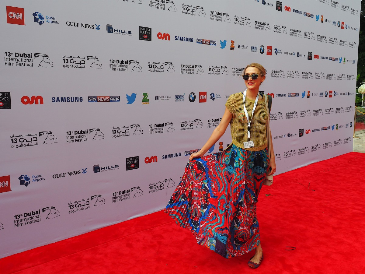 What's Dubai wearing #RedCarpet, #WDWD, #DIFF2106
