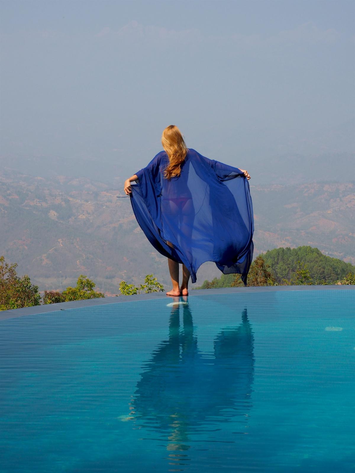 Splash in nature @Dwarika's