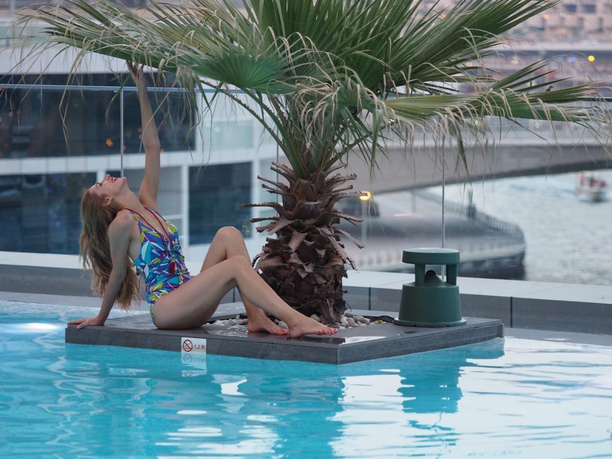 Blue Lagoon, Intercontinental DubaiMarina